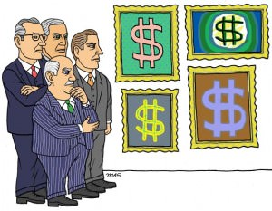 Cartoon Depiction of Arbitrage