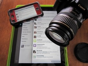 An Ipad, Iphone and Digital Camera