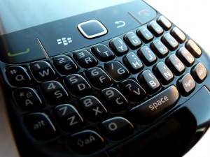 Keypad of the Blackberry Curve 8520