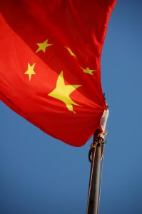 Chinese Flag by Renato Ganoza (Flickr)