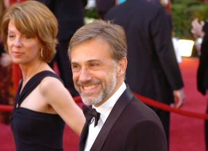 Christoph Waltz at the 2010 Oscars. Waltz is the unexpected winner of Best Supporting Actor for this year's Oscars. (Wikimedia Commons)