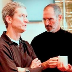 Steve Jobs Resigns as CEO. Tim Cook takes the reins.