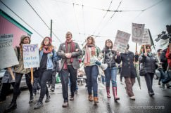 Warrior Up: Thousands Protest Northern Gateway Pipeline in Victoria