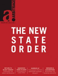 New State Order | Arbitrage Magazine | Vol. 5, No. 1
