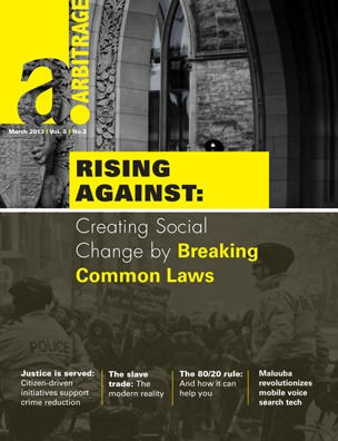 Rising Against | Arbitrage Magazine | Vol. 5, No. 2