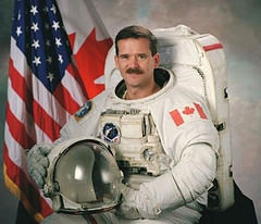 Hadfield's Star Rises High with Return to Earth