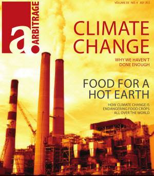 Climate Change | Arbitrage Magazine | Vol. 5, No. 4