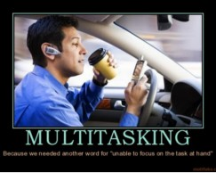 The High Cost of Multitasking